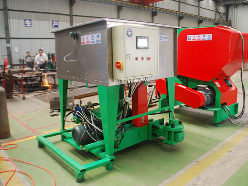 Briquette press equipment machine